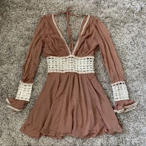 For love and lemons mini dress size xs